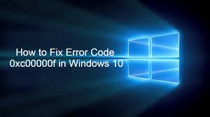 How to Fix Error code 0xc00000f