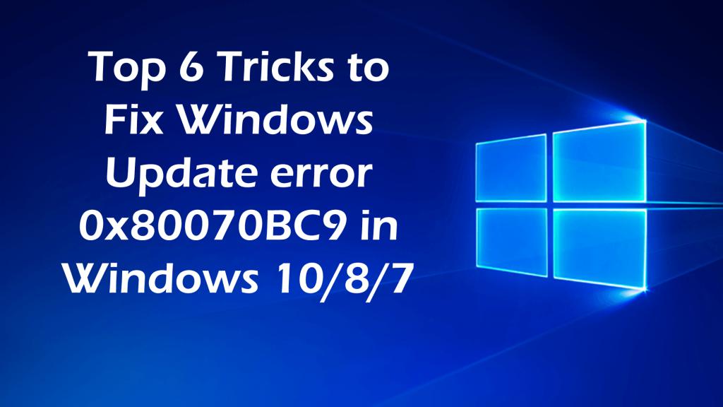 Fix Windows 10 Error Code 0x8007007e