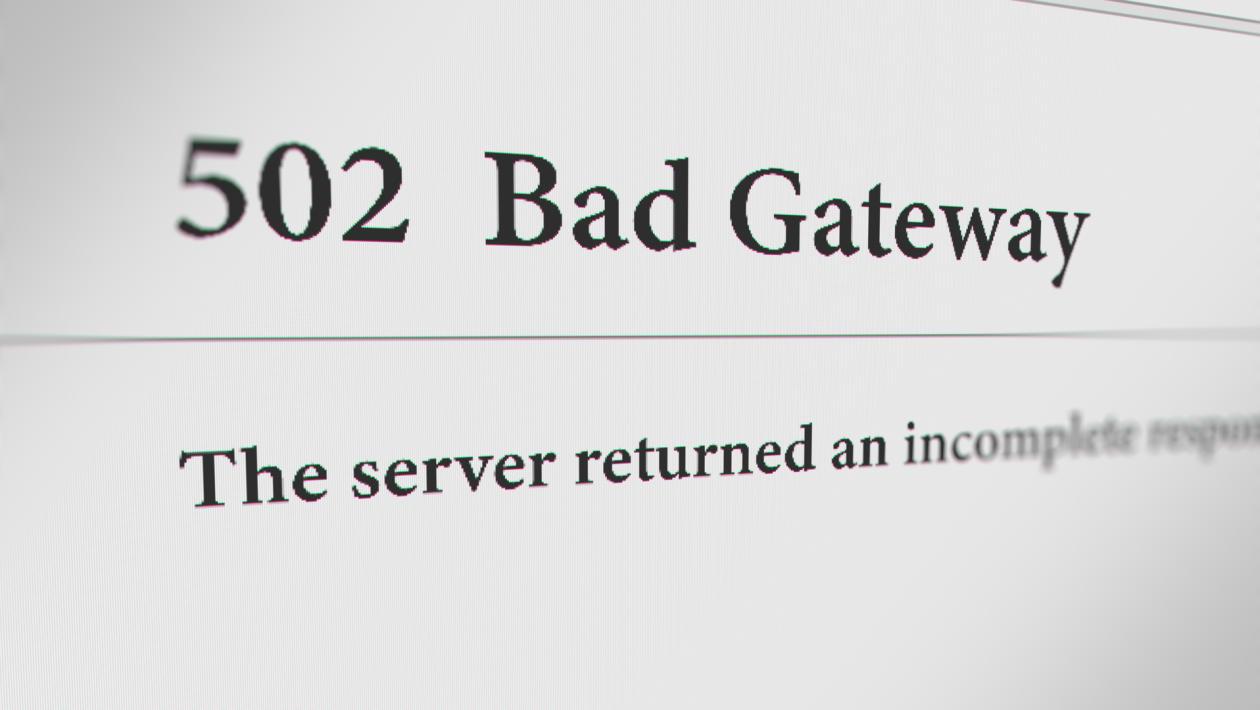 "How to Fix ""502 Bad Gateway"" Error"